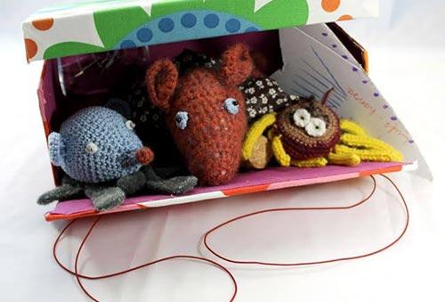 Märchen aus der Kiste! Kreativer Familienworkshop