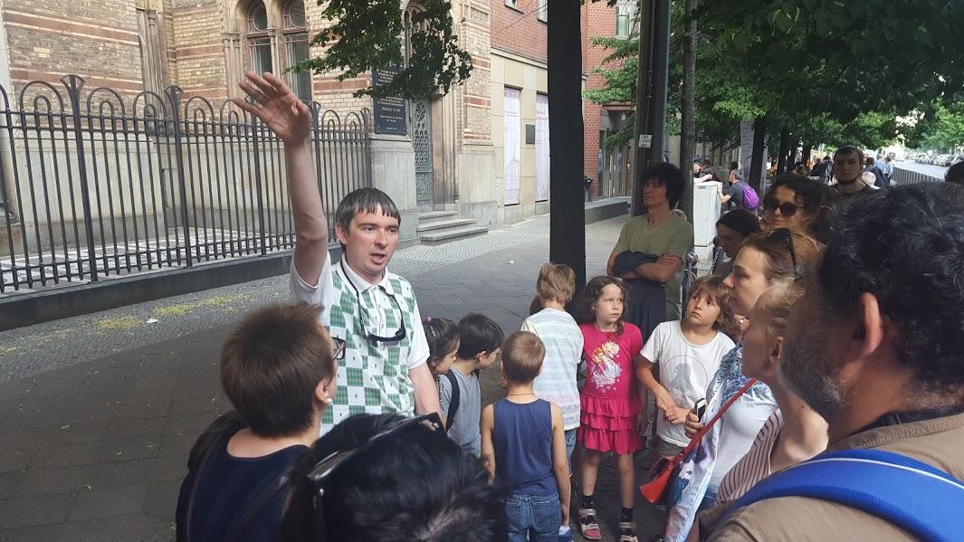 Stadtführung mit Sergey Lukichev