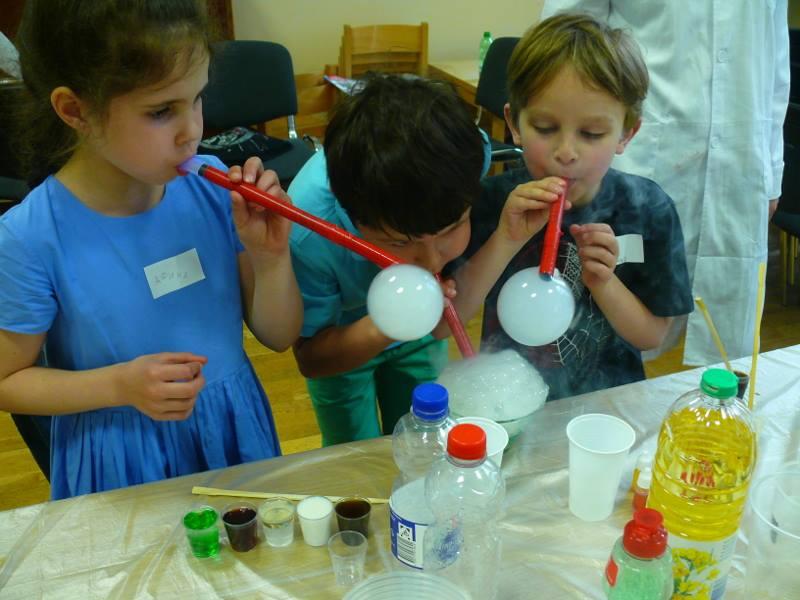 BubbleScience: Regenbogen-Experimente