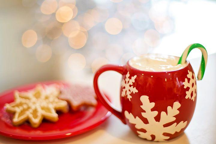 """Новогоднее чаепитие """"Карусели"""""""